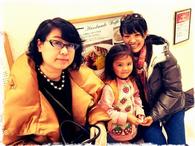 親勉のドン、小室尚子先生と初めてお会いしました 北海道、札幌の三省堂書店カフェにて。