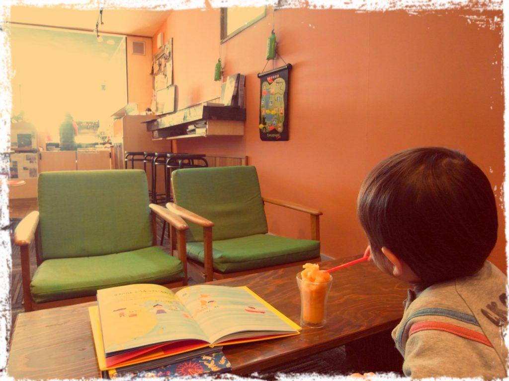 北海道、倶知安駅前にあるカフェSprout in 2012 親勉体験会 松本まきこ
