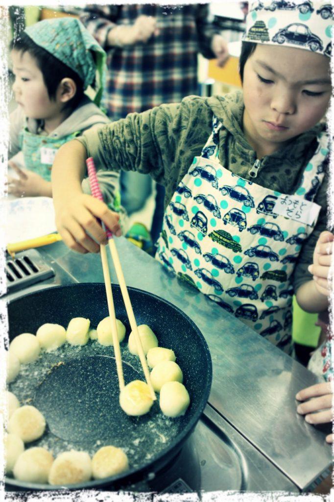 北海道、倶知安町のJA主催、親子クッキング教室