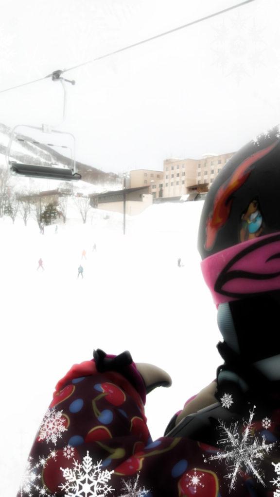 長男くんのスキースクールの様子見に、グランヒラフ、倶知安。