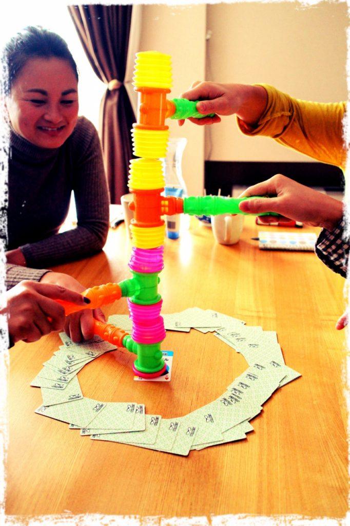初めてのリクエスト開催、親勉体験会 in 倶知安、北海道。カードゲームで盛り上がる。