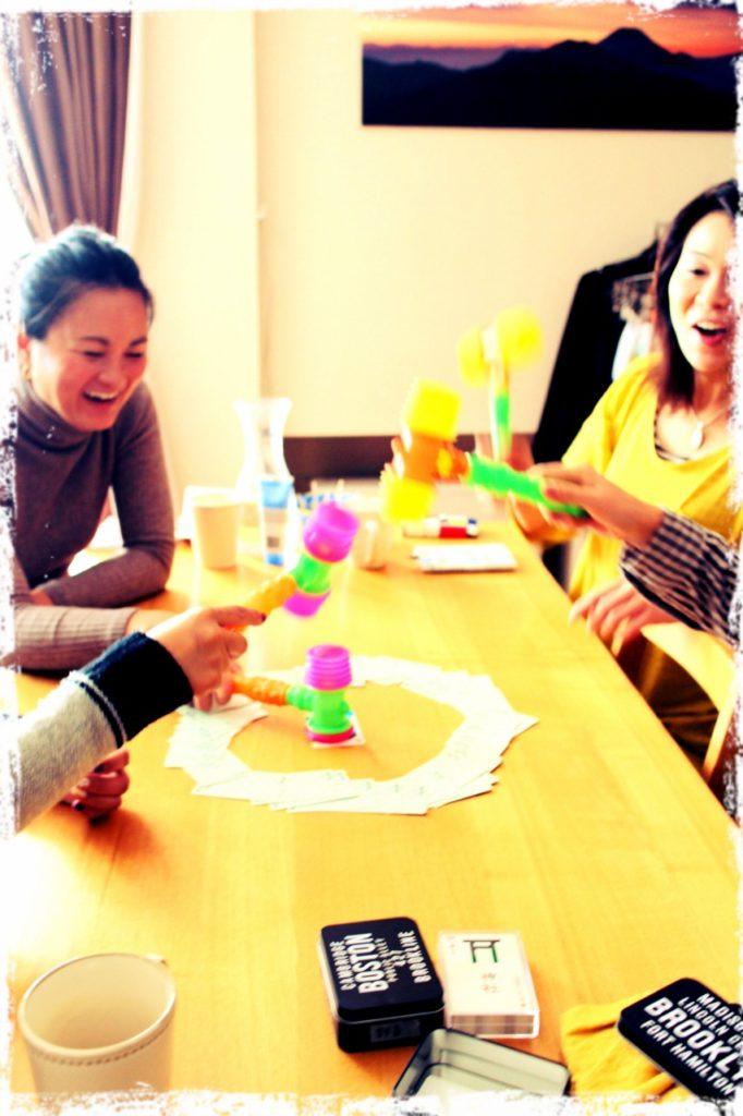 親勉体験会、リクエスト開催 in 倶知安、北海道。ピコピコハンマーで盛り上がる瞬間