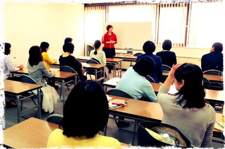 今回のJOJO会では、SNS集客についてのプチセミナーが親勉マスターインストラクター金井詞子さんから。