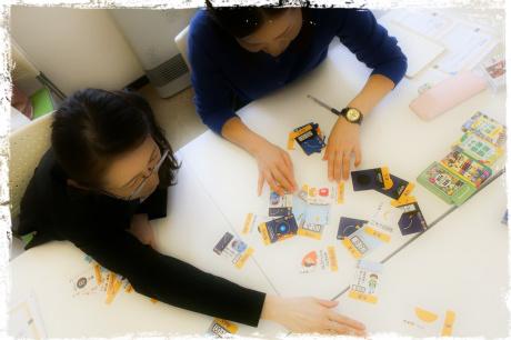 北海道札幌市、親勉中級講座、後半。午後からはワークの時間。 親勉インストラクター松本まきこ