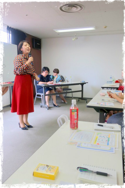 お役立ちサロン【食べ親パンツ】北海道札幌、食べトレ、親勉、パンツの教室。のじまなみ先生登壇。松本まきこ