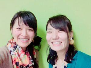 北海道札幌【食べトレ】上級(インストラクター養成)講座、出島鮎美先生と松本まきこ