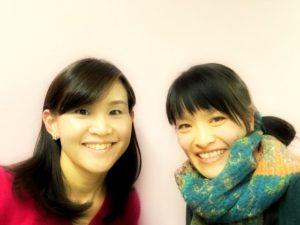 北海道札幌【食べトレ】上級(インストラクター養成)講座、福井優希先生と松本まきこ