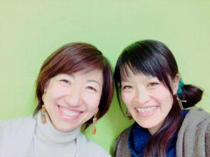 北海道札幌【食べトレ】上級(インストラクター養成)講座、内田彩子先生と松本まきこ