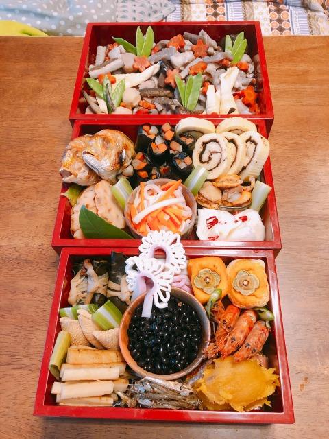 2019年 今年のお節料理。地球まるごと遊び場に 北海道 札幌 倶知安 食べトレ 親勉インストラクター松本まきこ