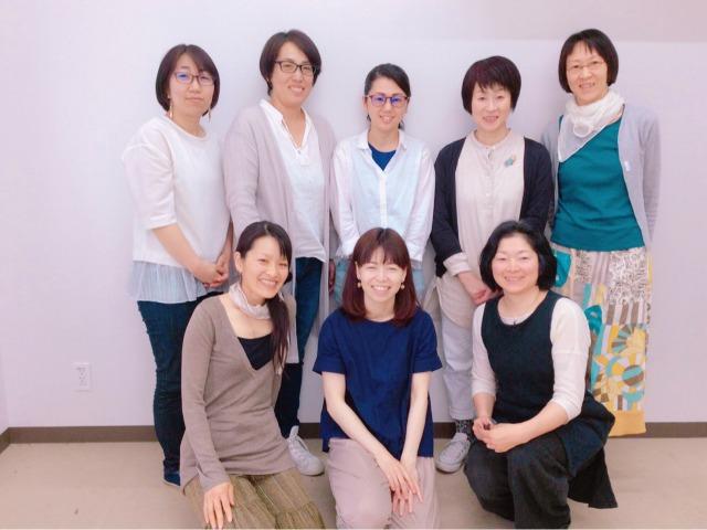 LD.ADHD等の心理疑似体験プログラム 札幌、講師は特別支援教育士 松山道子さん、参加されたお母さんたちと