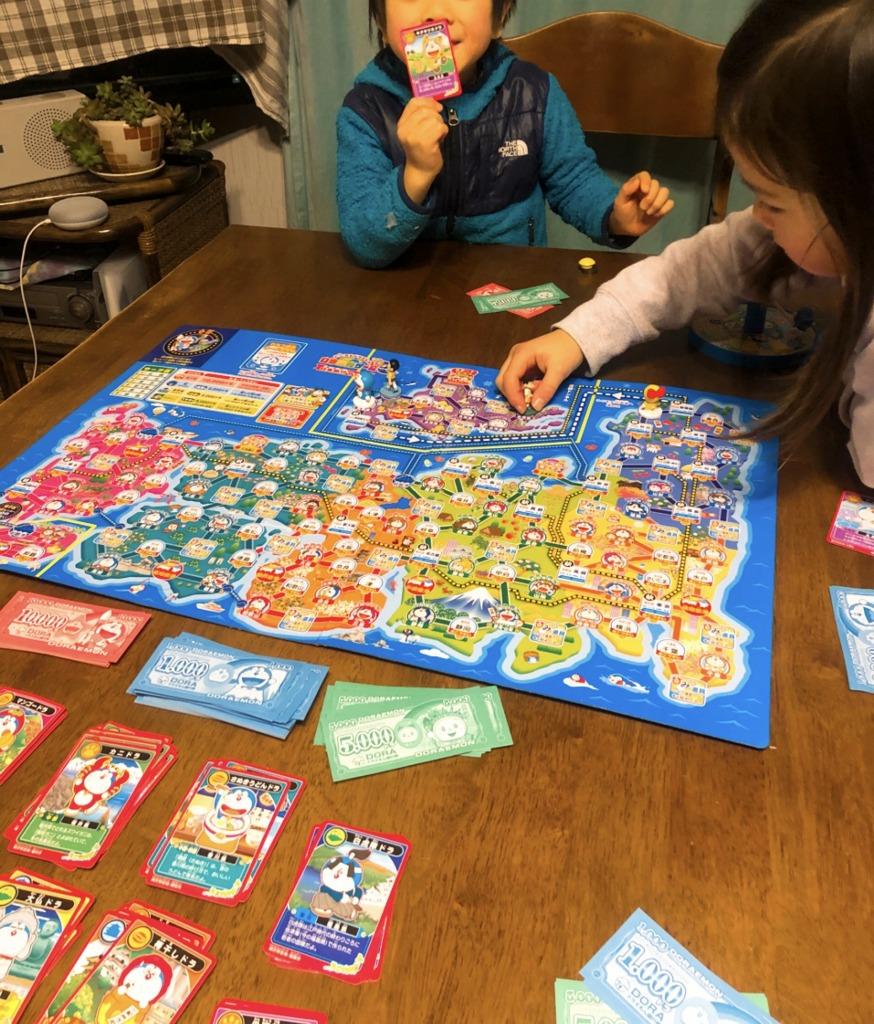 どこでもドラえもん日本旅行ゲーム5 世界旅行 宇宙旅行もできちゃう親勉アイテム、地球まるごと遊び場に