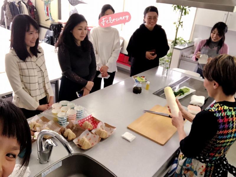 食べトレ2ステップレシピツアー ギール里映先生 北海道札幌開催、大根ステーキの調理見学。地球まるごと遊び場に