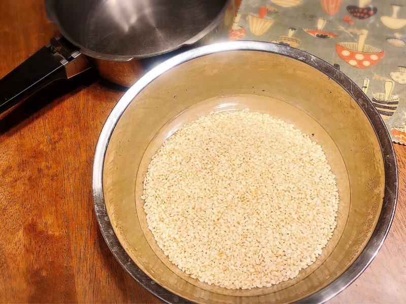 羊蹄山湧水にうるかした玄米 食べトレ2ステップレシピツアー 北海道札幌市 地球まるごと遊び場に
