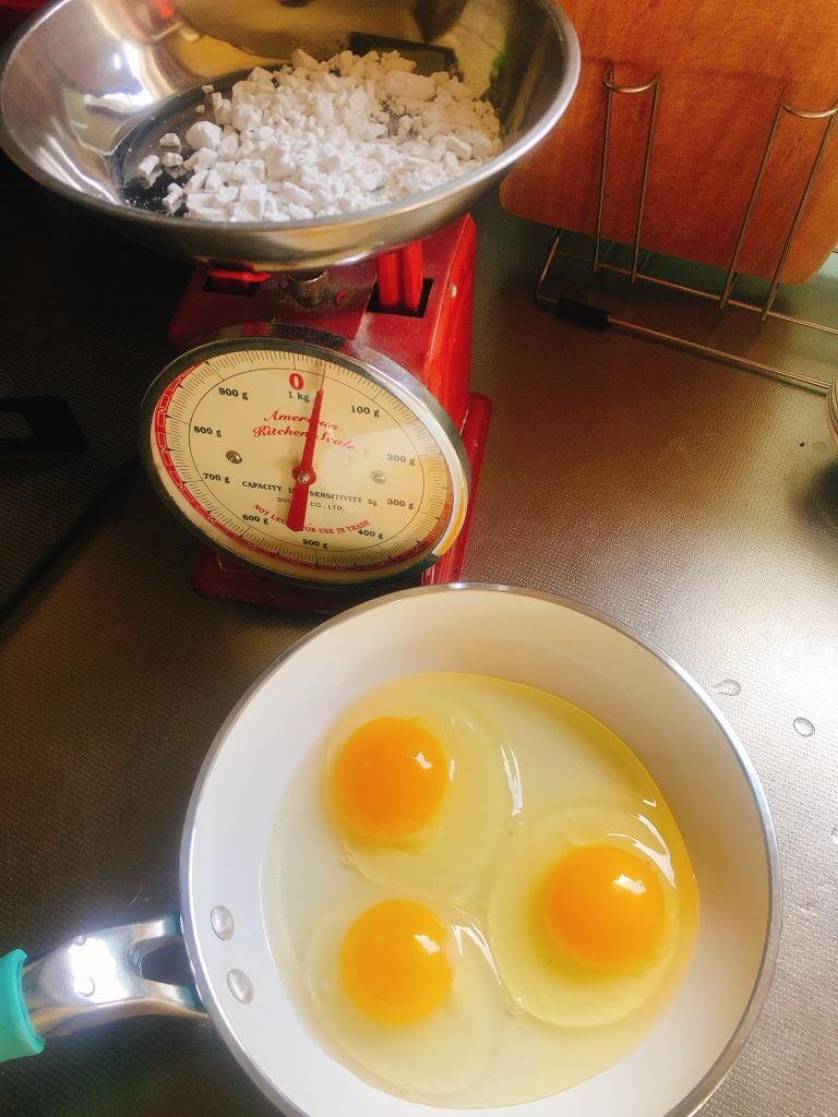 グルテンフリー・乳製品フリー 、葛粉と自然卵を使ったカスタードクリーム作ってみました! 地球まるごと遊び場に